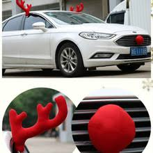 Diy Car Decor Popular Car Antlers Buy Cheap Car Antlers Lots From China Car