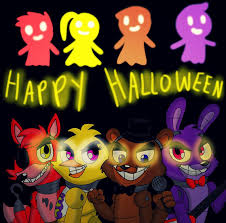 fnaf happy halloween 2015 by oceanegranada on deviantart