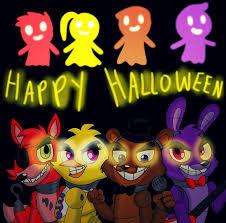 Animated Halloween Graphics by Fnaf Happy Halloween 2015 By Oceanegranada On Deviantart