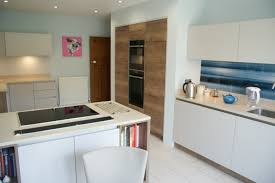 fusion linear kitchen in smooth painted cashmere halifax tobacco