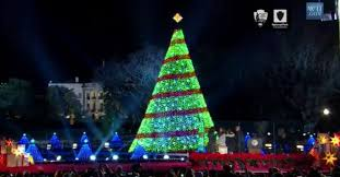 national tree lighting ceremony 2016 at the