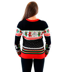 amazon com grateful dead dancing bears ugly christmas sweater