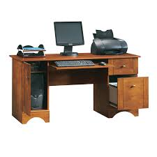 Home Office Computer Desk Furniture Shop Sauder Country Computer Desk At Lowes
