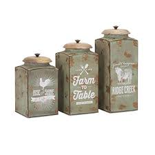 kitchen canisters set farmhouse kitchen canister sets and farmhouse decor ideas