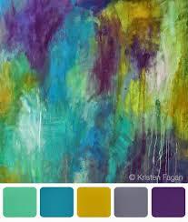 color inspiration by kristen fagan inspirational colour palettes