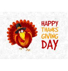 thanksgiving menu vector images 310