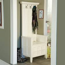 Simple Entryway Bench With Coat Rack Simple Entryway Bench With
