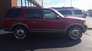 Ford Escape Black Rims - 2002 ford explorer on 22s youtube