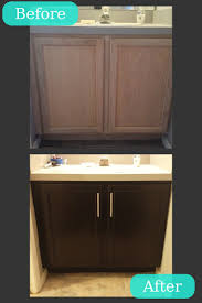 bathroom cabinets refinishing bathroom cabinets staining
