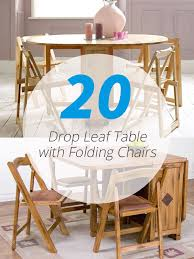 drop leaf table with folding chairs stored inside nice folding table with chair storage inside 20 drop leaf table with