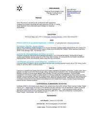 Study Abroad On Resume Resume Eben Mannes