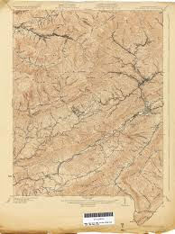Richmond Ky Map Virginia Historical Topographic Maps Perry Castañeda Map