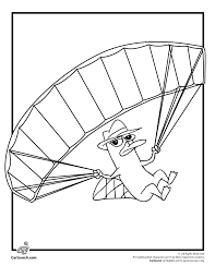 phineas and ferb coloring pages agent p perry the platypus
