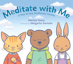cartoon margarita meditate with me a step by step mindfulness journey mariam gates
