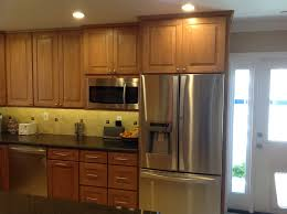 maple cabinets for his california kitchen excellent