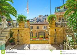 Old Mansions The Old Mansions Of Jerusalem Stock Photo Image 68309467