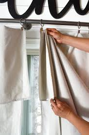 How To Make Curtains Out Of Drop Cloths Step By Step Drop Cloth Curtain Tutorial