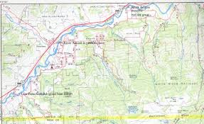 Glenwood Springs Colorado Map by Colorado River Sect 5