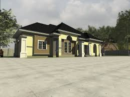 House Design Pictures In Nigeria by Modern Nigeria Bungalow Design 4 Bedroom Plan In Nigeria Bracioroom