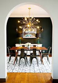23 Dining Room Chandelier Designs Decorating Ideas 10 Rooms That Make Black Walls Work Apartment Therapy Interior