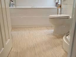 Flooring For Bathrooms Vinyl Vinyl Floor Kohler Toilet In White - Bathroom vinyl