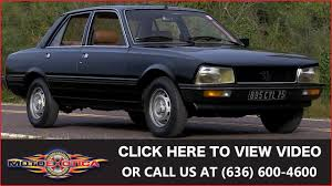 peugeot gti 1980 1980 peugeot 505 sti 5 000 original miles sold youtube