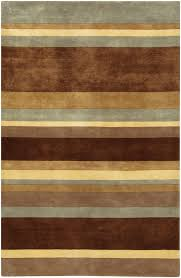 Chandra Rug Earth Tone Stripes Antara Rug By Chandra Rugs Rosenberryrooms Com
