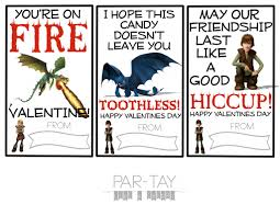 how to train your dragon free valentines cards party like a cherry
