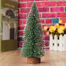 mini tree festival home ornaments house