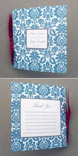 booklet wedding programs wedding program template 4 page rococo square booklet