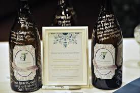 guest book wine bottle alternative guest book ideas