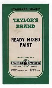 9 best vintage paint colour color charts images on pinterest