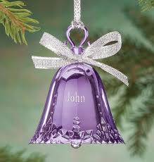 birthstone ornament personalized birthstone bell ornament exposures