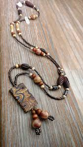 wood jewelry necklace images 130 best wood jewelry images jewerly necklaces and jpg