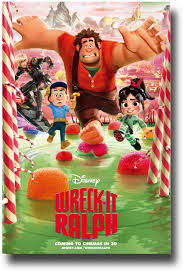 wreck ralph poster u2013 movie promo flyer 11 17 green lake