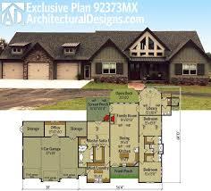 One Level House Plans Single Story Open Floor Plans Plan Single Level One Story Luxamcc