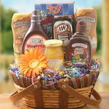 Ice Cream Gift Basket Ice Cream Basket Idea Handmade Gifts Pinterest Basket Ideas