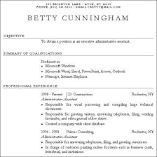 Plain Resume Template 2 Sle Resumes Hardcopy And Plain Text Susan Resumes