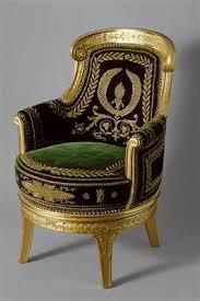 bureau d ude m anique lyon arts décoratifs premier empire fauteuil du bureau de napoléon 1er