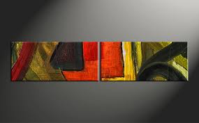 home decor canvas 2 piece colorful oil painting home decor abstract wall art