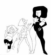 garnet amethyst pearl mysteriousfoxgirl deviantart