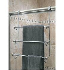 Shower Door Towel Bar Replacement Door Towel Rack Brushed Nickel Door Towel Bar