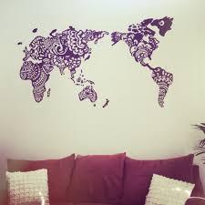 henna world map mural dream everything pinterest hennas henna world map mural