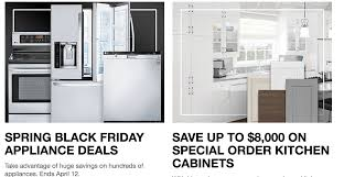 spring black friday 2017 home depot the home depot canada spring black friday sale save on appliances