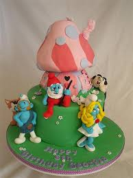 369 best smurf cake images on pinterest cake cake designs and