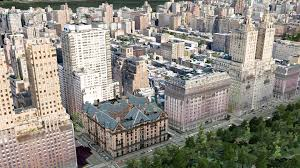 new york city central park west from left to right the majestic cental park