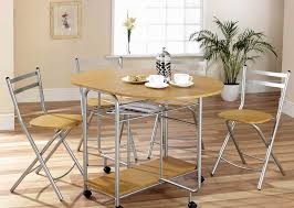 Drop Leaf Table And Folding Chairs Integrate Invisible Drop Leaf Table U2014 Nebula Homes