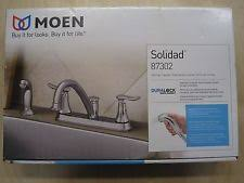 moen solidad kitchen faucet moen kitchen faucets with 2 handles ebay