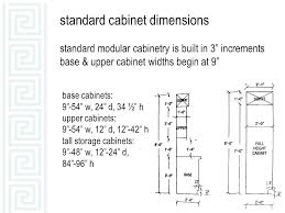 Width Of Kitchen Cabinets Standard Kitchen Cabinet Height From Floor Base Cabinets
