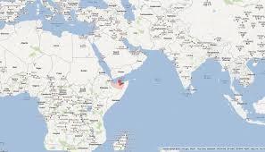 Islam World Map by Somaliland Map